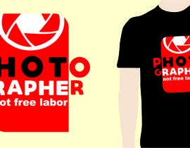 #18 for Design a Logo T-shirt for Photographers Movement by kangibad
