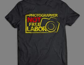 #15 for Design a Logo T-shirt for Photographers Movement by areztoon