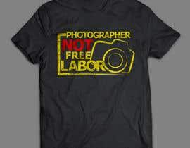 areztoon tarafından Design a Logo T-shirt for Photographers Movement için no 15