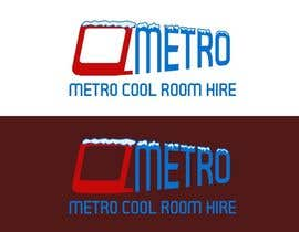 winkeltriple tarafından Metro Cool Room Hire Logo Design için no 104
