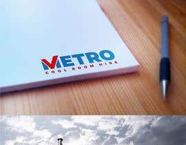 Logozavr tarafından Metro Cool Room Hire Logo Design için no 70