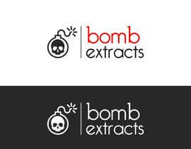 #215 for Bomb Extracts Logo Creative by Atiqrtj