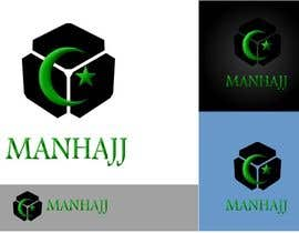 #348 para MANHAJJ Logo Design Competition por a183rt