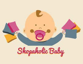 nº 20 pour Design a Logo for a baby and children's store called shopaholic Baby par CarolynnYoe