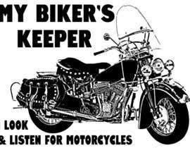 Nro 26 kilpailuun Design a Logo for My Biker's Keeper käyttäjältä Pibbles