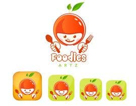 PhongDesigner tarafından Design a logo and name for a foodie app için no 130
