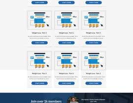 Nro 78 kilpailuun Design a Website Mockup - Training Course Platform käyttäjältä designcreativ