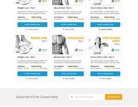 Nro 83 kilpailuun Design a Website Mockup - Training Course Platform käyttäjältä theislanders
