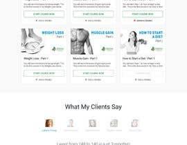 Nro 100 kilpailuun Design a Website Mockup - Training Course Platform käyttäjältä theislanders