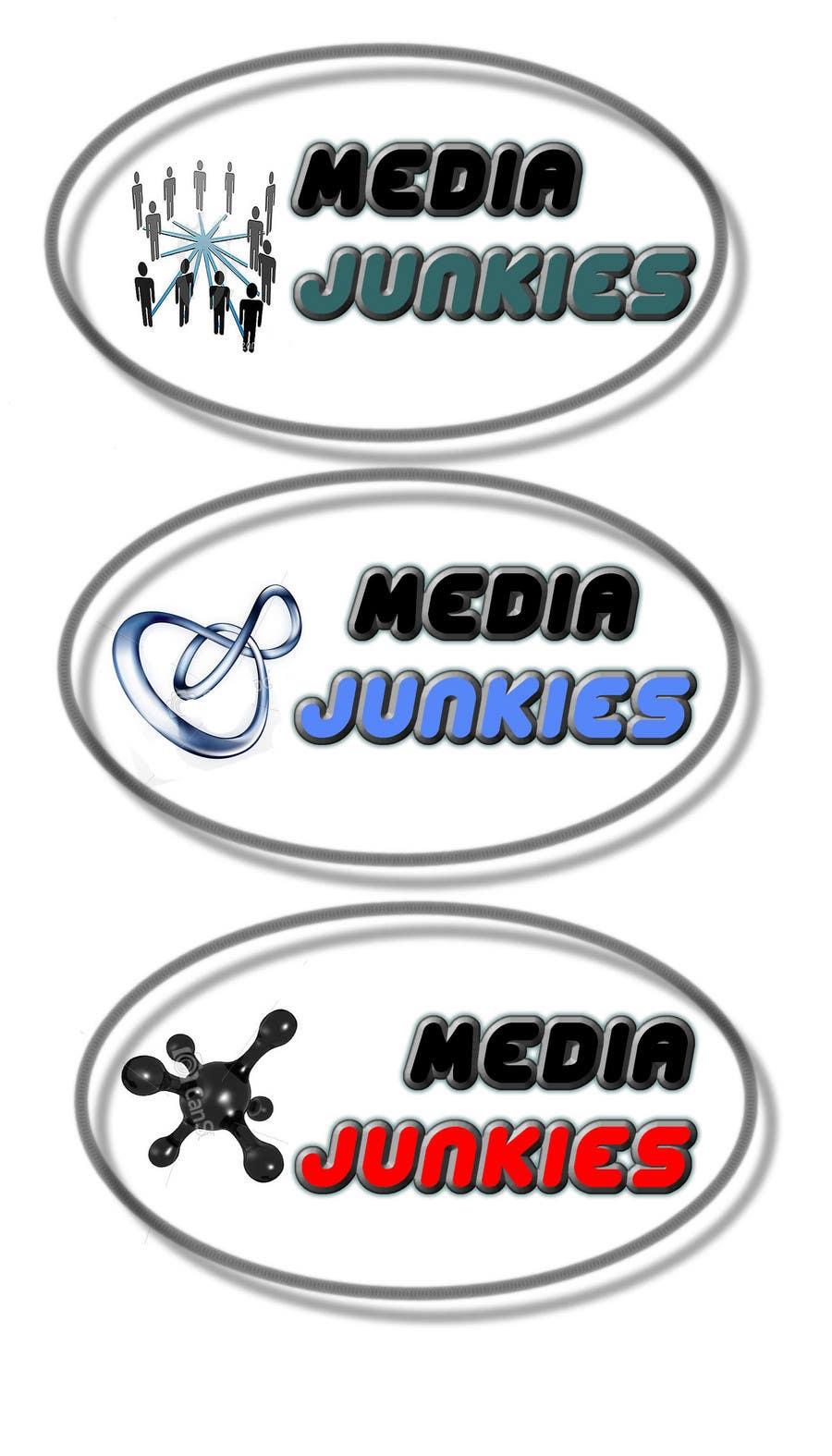 Inscrição nº                                         26                                      do Concurso para                                         Logo Design for Media Junkies