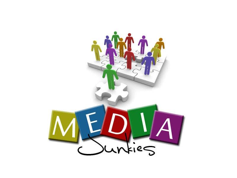 #135 for Logo Design for Media Junkies by kyleHunter