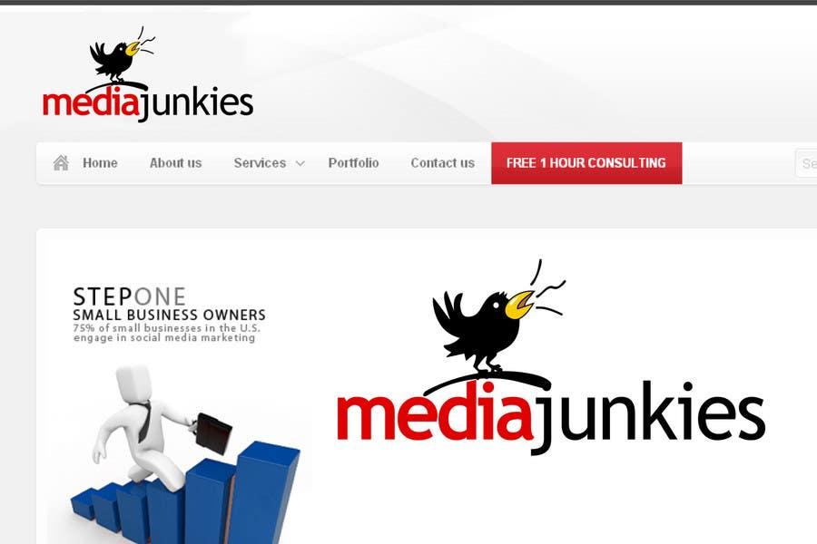 #126 for Logo Design for Media Junkies by smarttaste