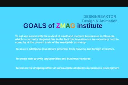 #10 for Create a Video presentation for ZMAG institute af designreaktor