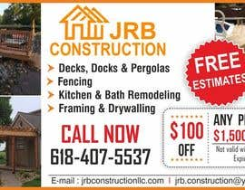 igraphicdesigner tarafından Design a Print Advertisement for Construction Business için no 9