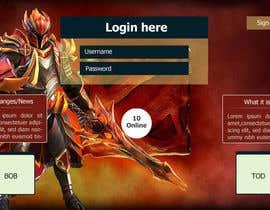 Nro 7 kilpailuun Design MMORPG landing page käyttäjältä mdmonirhosencit