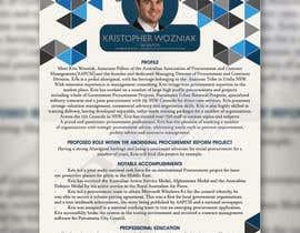 rabdurahmanov tarafından Design an official branding document için no 8