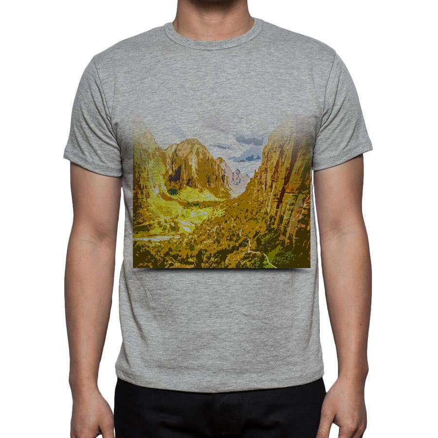 Contest Entry #                                        7                                      for                                         Design a T-Shirt inspired by Zion National Park