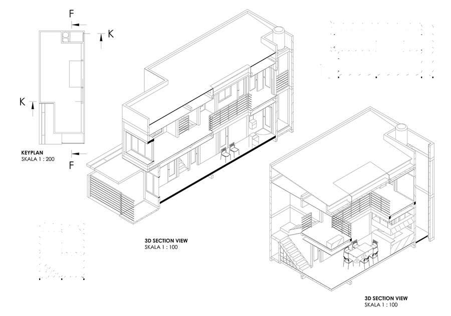 #18 for Design a double garage with loft by muhammadirman