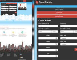nº 13 pour Website design for Airport Transfer par andviel