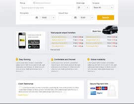 uniqueclick tarafından Website design for Airport Transfer için no 18