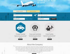 nº 15 pour Website design for Airport Transfer par sharmaadeepak