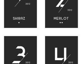 chimizy tarafından Design a wine label: Wine by Numbers için no 81