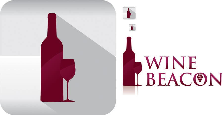 Proposition n°21 du concours Design a Logo and Icon for Mobile Application of Wine Notifier