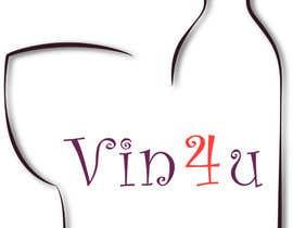 Nro 23 kilpailuun Vin4u blog logo käyttäjältä filipristic