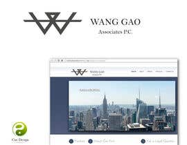 nº 15 pour Design a Logo for Wang Gao & Associates, PC. par yusen89