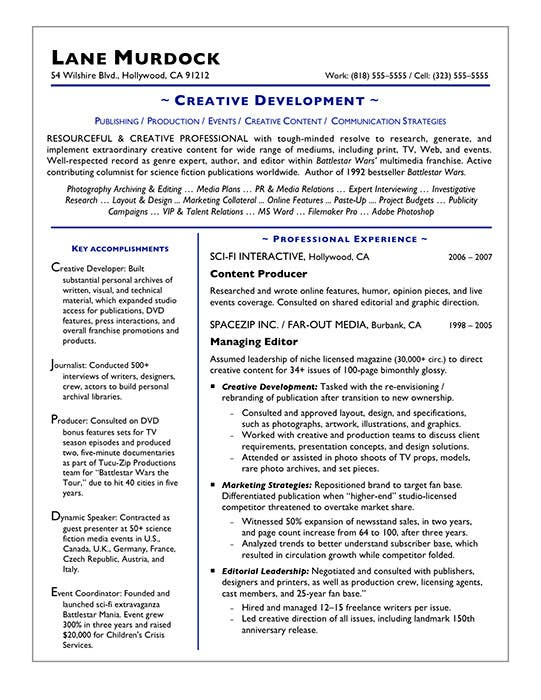 resume of a creative writer 28 images resume sles
