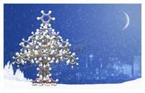 Graphic Design Kilpailutyö #18 kilpailuun Design Business Christmas cards