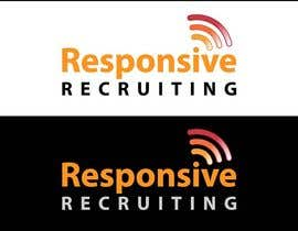 #34 for Design a Logo for Responsive Recruiting by iakabir