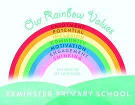 Nro 10 kilpailuun Rainbow design for UK school käyttäjältä andycoy