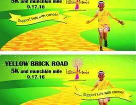 Nro 21 kilpailuun Yellow Brick Road 5K Banner/Billboard käyttäjältä VISHAL1977