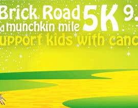 #9 for Yellow Brick Road 5K Banner/Billboard by ViktorKallio