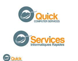 nº 5 pour Design a Logo for Quick Computer Services par arteastik