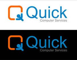 #25 for Design a Logo for Quick Computer Services by swdesignindia