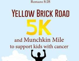 Nro 3 kilpailuun Yellow Brick Road 5K Race Brochure käyttäjältä lydias90