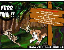 #30 for Beagles Chasing Bunny af MajdGH