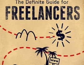 nº 12 pour develop cover for my ebook The Definite Guide for Freelancers par kiekoomonster