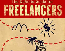 nº 13 pour develop cover for my ebook The Definite Guide for Freelancers par kiekoomonster