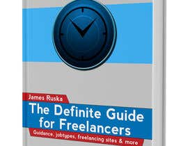 nº 21 pour develop cover for my ebook The Definite Guide for Freelancers par andrewangel