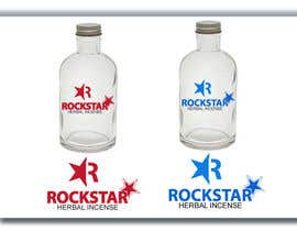 #486 para Logo Design for Rockstar Herbal Incense Company por webmall