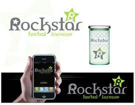#466 untuk Logo Design for Rockstar Herbal Incense Company oleh Identity12