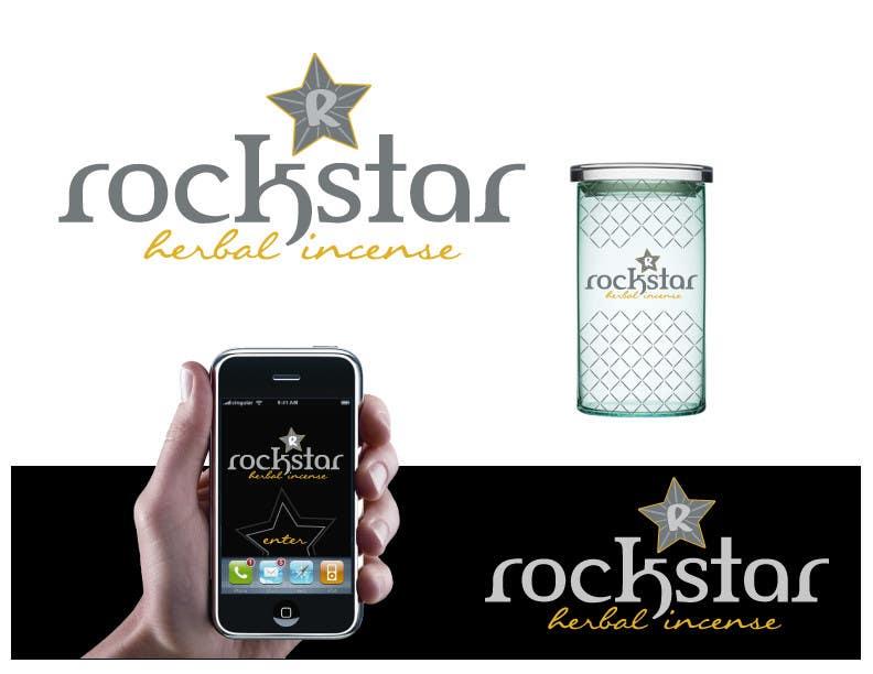 Proposition n°                                        456                                      du concours                                         Logo Design for Rockstar Herbal Incense Company