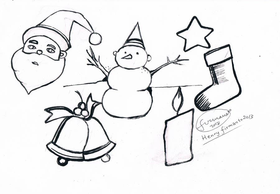 Proposition n°24 du concours Cute Christmas Drawings