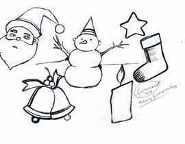 #24 for Cute Christmas Drawings af FirmantoHenry