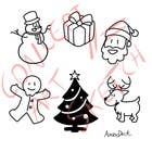 Graphic Design Bài thi #8 cho Cute Christmas Drawings