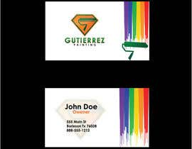 #41 untuk Design some Business Cards for Painting Company oleh DanaPopa