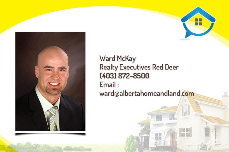 #37 for Design a Real Estate postcard by dindinlx